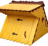 Домик для колодца №4